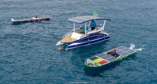 Compétition 2019 du Monaco Solar and Energy Boat Challenge