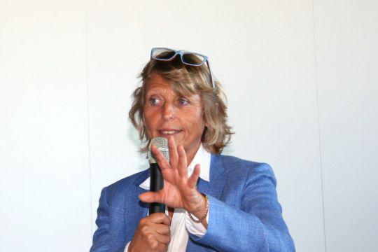 Sylvie Ernoult, commissaire générale du Cannes Yachting Festival