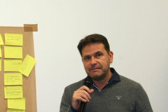 Michael Quernez, président de l'Association des Ports de Plaisance de Bretagne