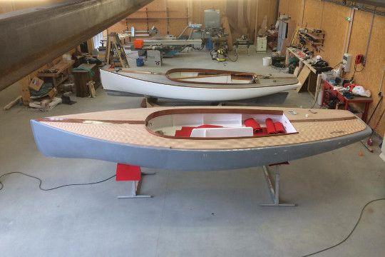 Intérieur du chantier naval Be Boat