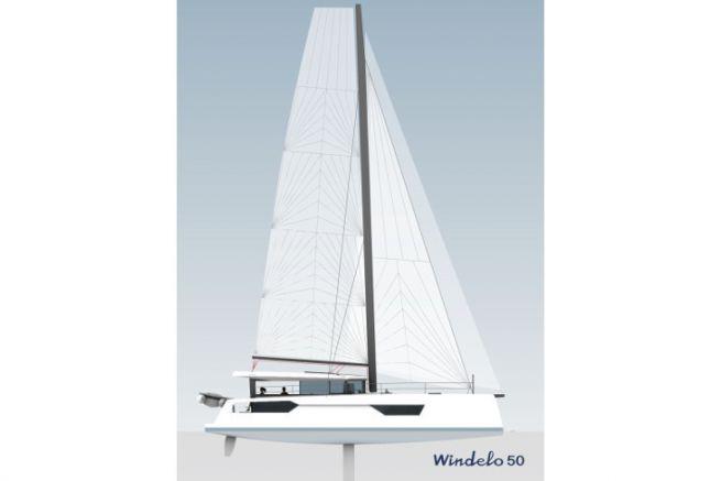 Profile of the future catamaran Windelo 50