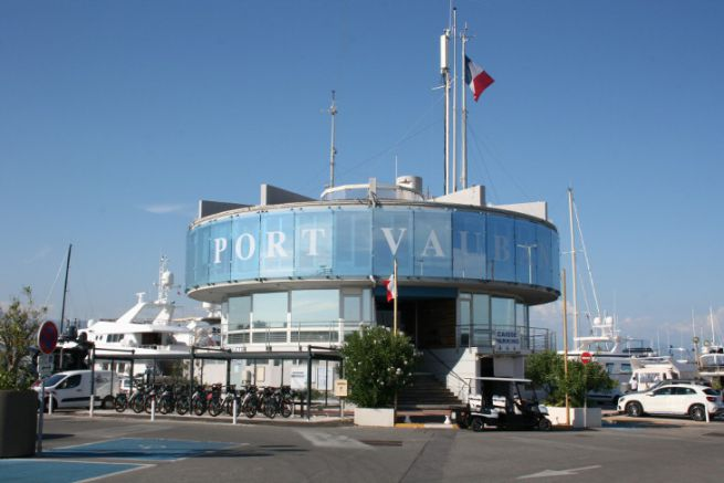 Port Vauban Harbour Master's Office in Antibes