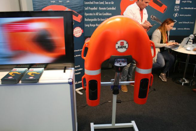The USafe rescue drone, winner of the DAME Award in all categories at METS Trade 2019