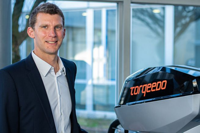 Jochen Engelmann, new VP of Torqeedo
