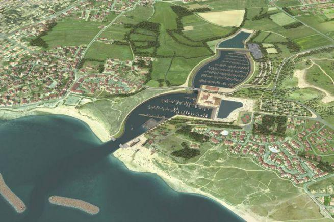 Brétignolles-sur-Mer marina project in the sensitive natural area of the Marais Girard