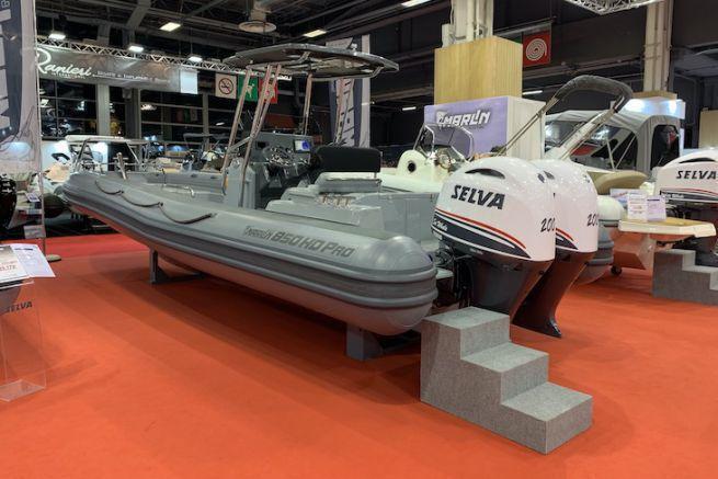 The Marlin 850 HD Pro at the Nautic de Paris 2020