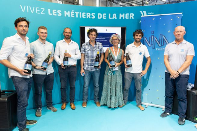 The winners of the Nina Awards Grand Ouest 2019 at the XXL Sea