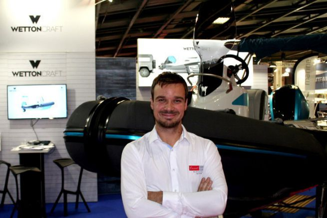 Vincent Lebailly, Vice-President of Normandie Maritime in charge of yachting