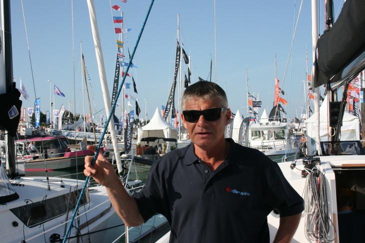 Denis Bourbigot, founder of IDB Marine