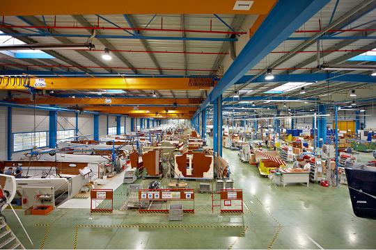 Bénéteau Group plant