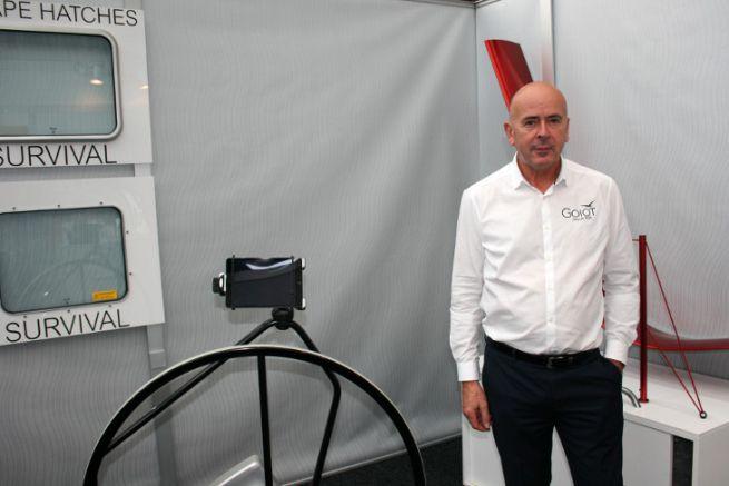 Jacques Leblais, CEO of Goiot Systems