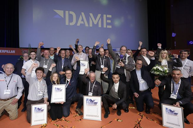 The 2018 winners of the DAME Awards