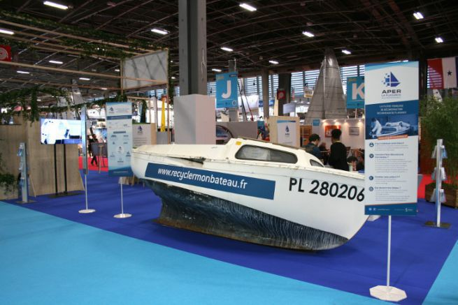 Deconstruction space at the Nautic 2019