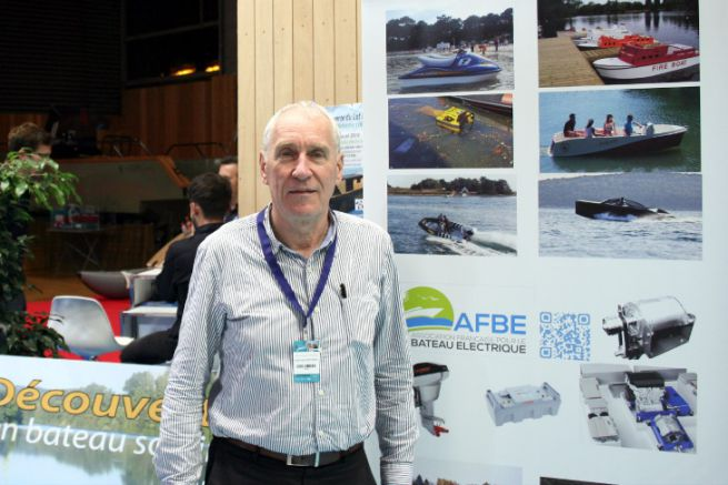 Xavier de Montgros, President of the French Association for Electric Boats