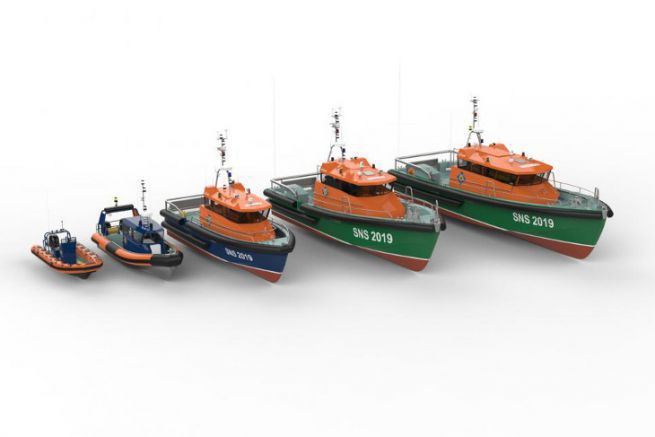 Images of the future SNSM fleet proposed by the Couach and Frédéric Neuman shipyard
