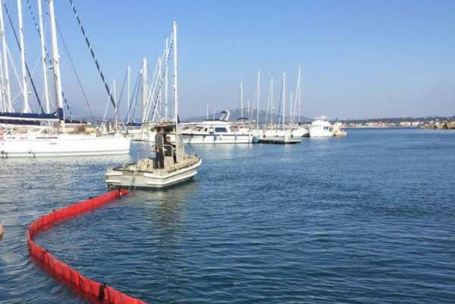 Clean Ports form for the use of pollution control means