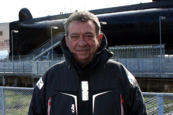 Sylvain Morel, harbour master of Lorient La Base