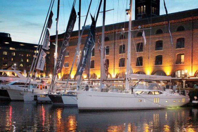 London Boat Show afloat in London