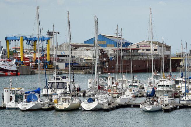 Boulogne-sur-Mer marina