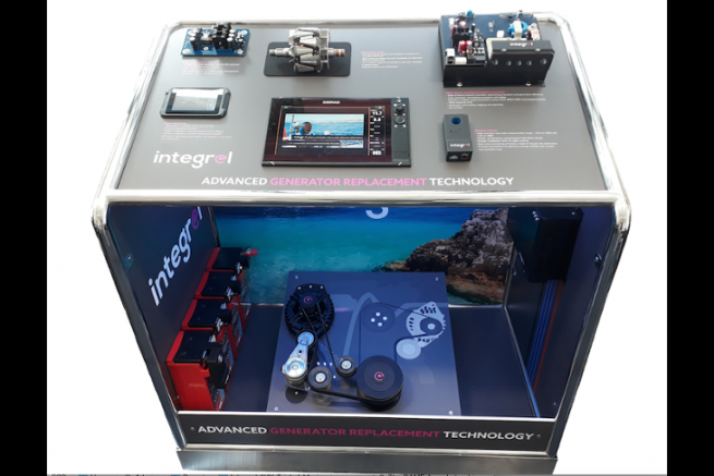 Integrel, Triskel Marine's energy management system, winner of the DAME Design Award 2018