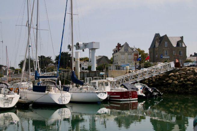 The port of Piriac-sur-Mer in Loire Atlantique