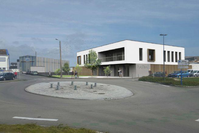 Image of Plastimo's future headquarters in Lorient