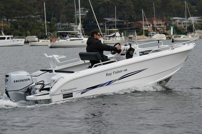 Morningstar Boats' 498 Fisher