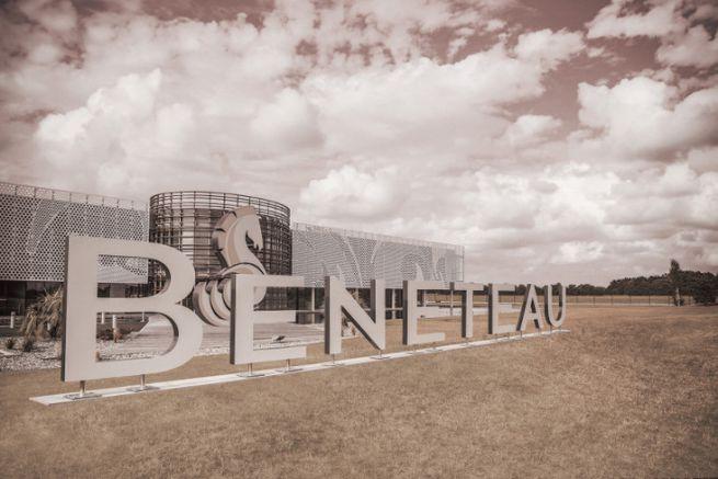 Headquarters of the boat builder Bénéteau