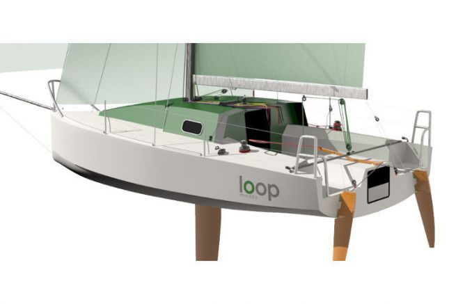 The sustainable Mini 650 Loop 650, finalist of the JEC World Innovation Awards