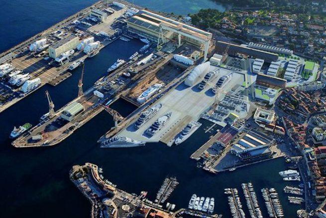 Works project at La Ciotat Shipyards