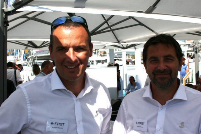 Kristian Hajnsek and Andraz Mihelin, founders of Seascape, now part of Bénéteau's First range