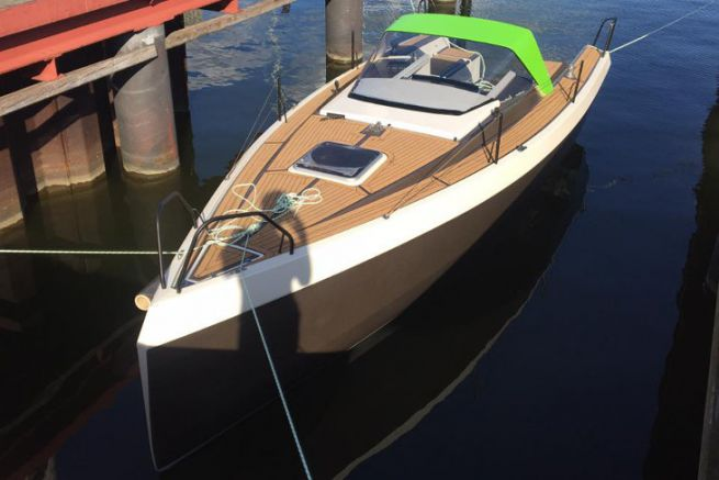 Bente 24 Green Edition subcontracted by GreenBoats