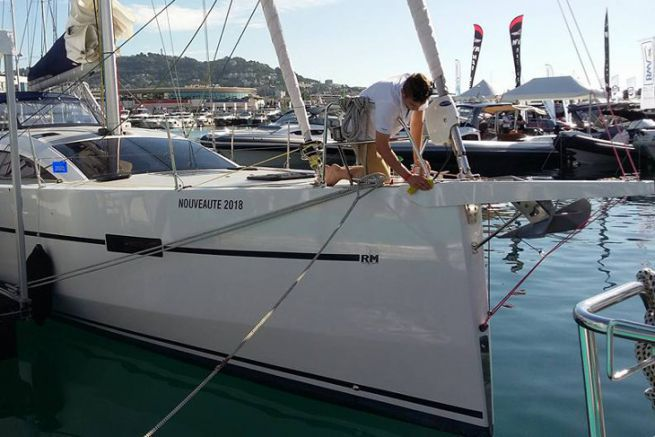 Boat cleaning takes a prominent place following the health crisis