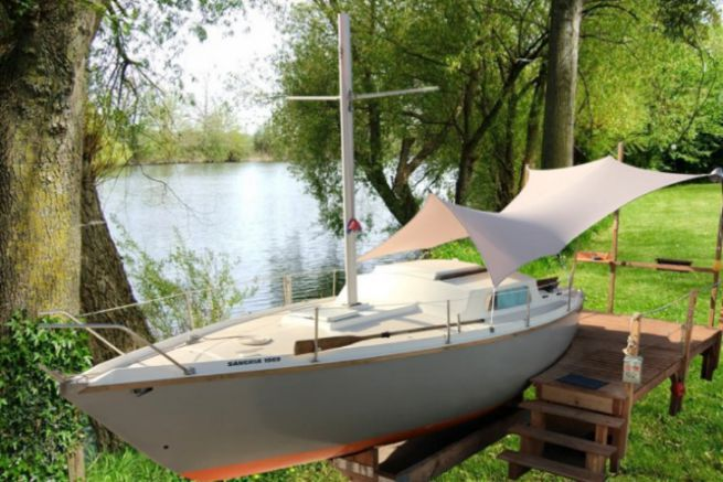 Batho gives a second life to boats out of the water