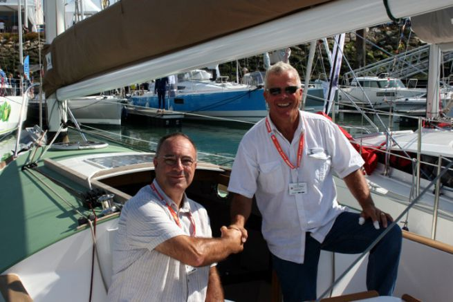 Patrick Bergeat and Antoine Carmichael relaunch the small Pabouk sailboat models