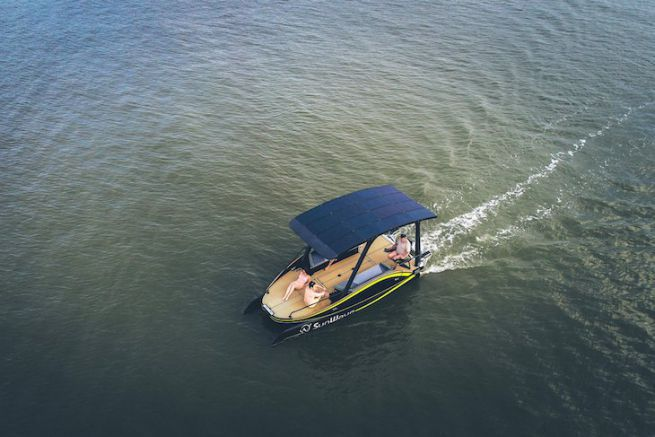 The Sun Wave S2, electric boat of the year 2019