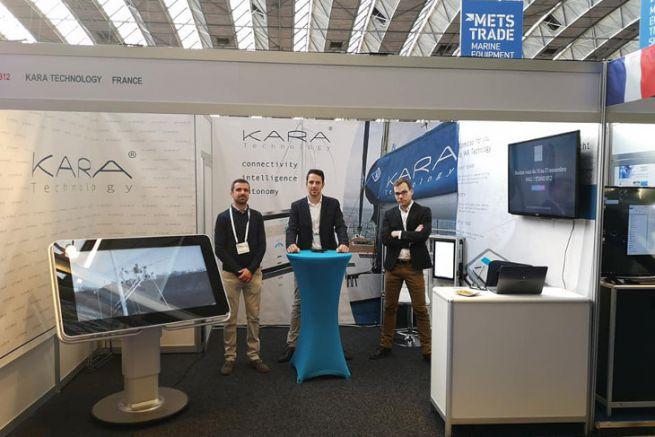 The Kara Technology team at METS Trade