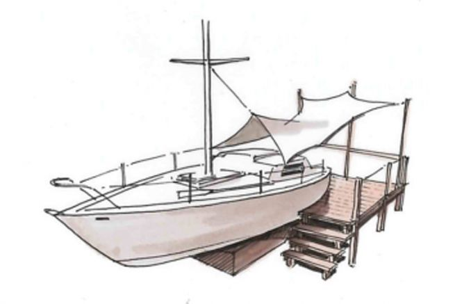 Batho's Out of Service Boat Conversion Project