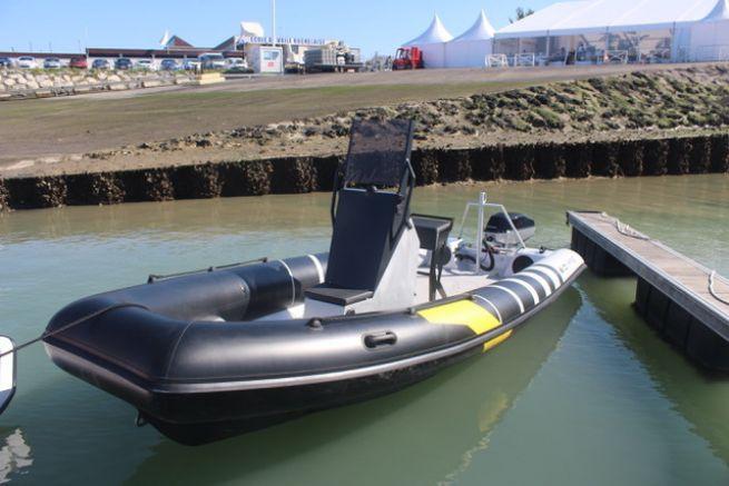 Naviwatt Zen Pro, the winner of the 2017 Electric Boat of the Year