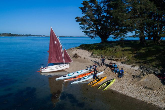 Range of Plasmor sailboats and kayaks