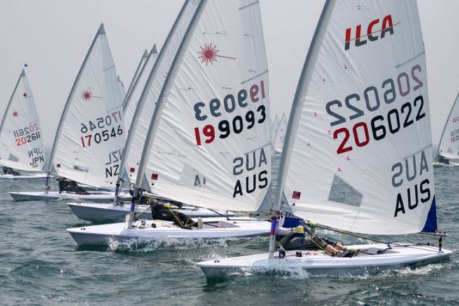 Marçon Yachting distributes the Olympic dinghy ILCA