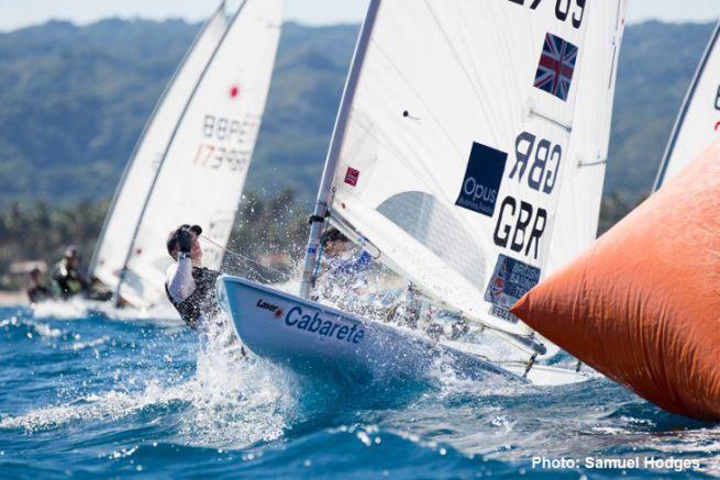 Laser Regatta in the West Indies