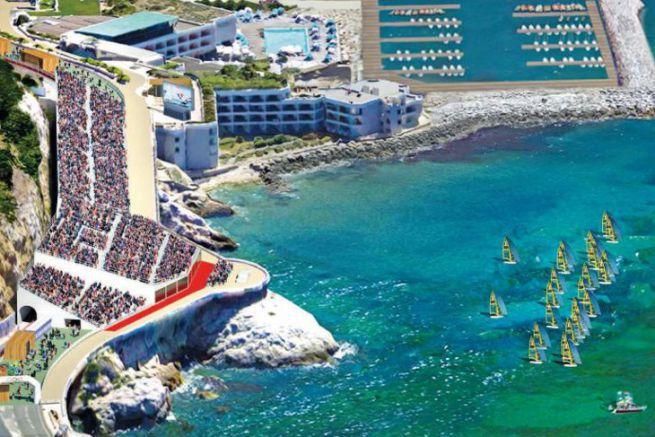 Marseille Corniche Development Project for the 2024 Olympic Games