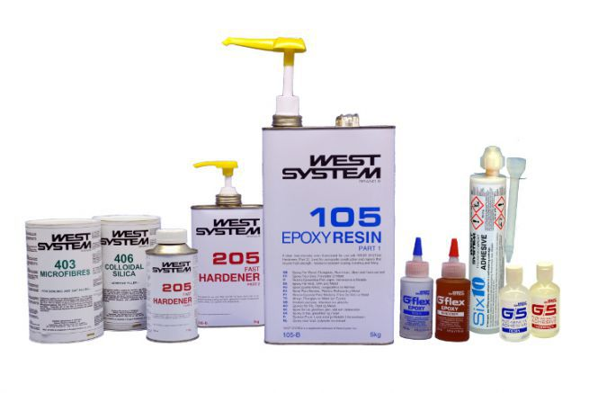 West System products and resins