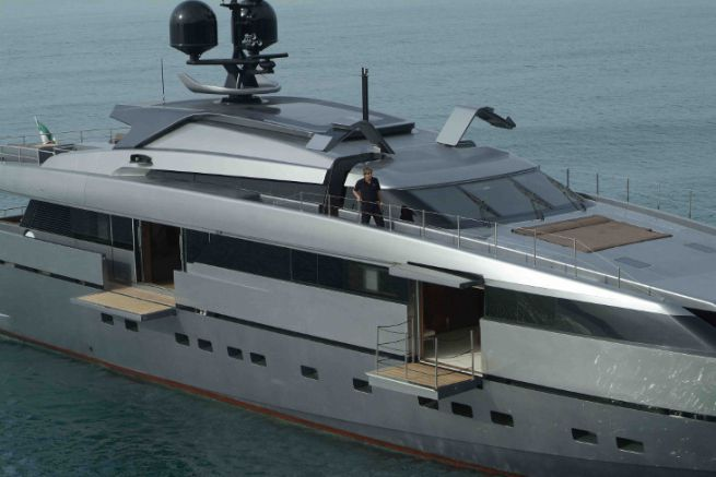 Superyacht of the San Lorenzo shipyard