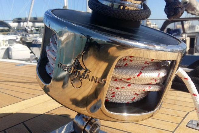 Reckmann reel, distributed by Grigorie Import