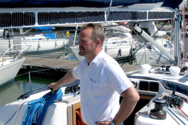 Christian Hallberg, Commercial Director of the electric motor manufacturer Oceanvolt