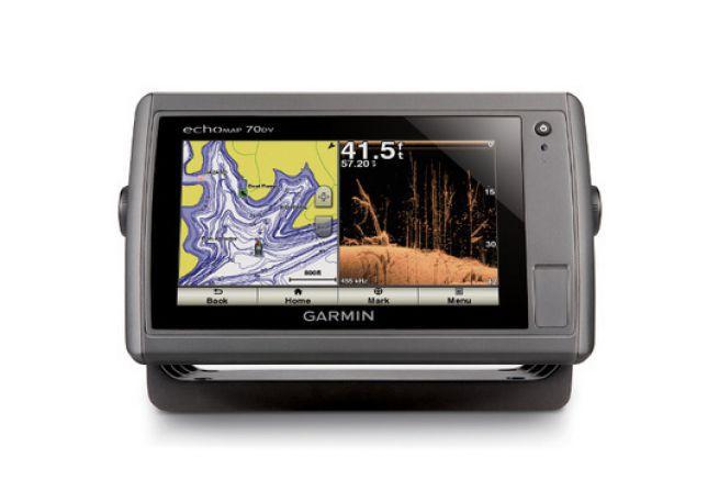Garmin sonar with Down Vü technology