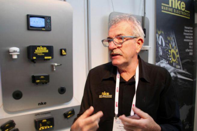 Paul Fraisse, Director of NKE Marine Electronics