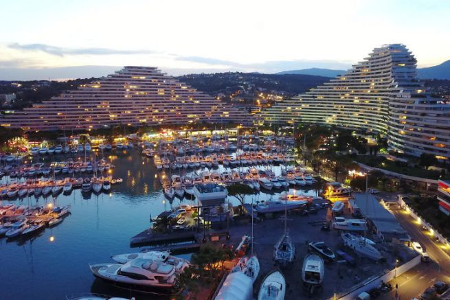 Marina Baie des Anges will host the Marina High Tech show